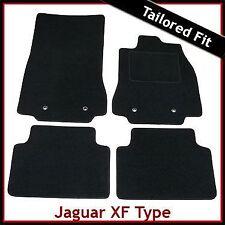 JAGUAR XF mk1 2008-2015 completamente montato su misura moquette tappetini Nero