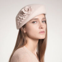 Fashion Women/Ladies Wool Beret Hat For Wedding Party Evening Formal Occasion