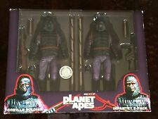 NECA PLANET OF THE APES - GORILLA SOLDIER INFANRTY 2 PACK TRU EXCLUSIVE