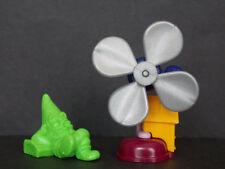 Jouet kinder nain et ventilateur K99 47 France 1998 +BPZ