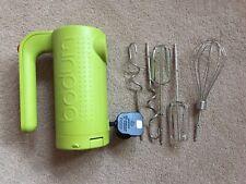 Bodum Bistro Hand Mixer Lime Green