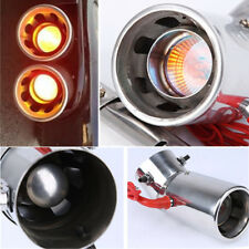 Fire Breath Car LED Light Exhaust Pipe Tip Torch Muffler Cover Universal 70mm
