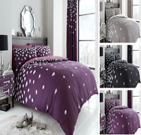 Luxurious BE JEWELLED Diomand Stylish Duvet Cover Sets Reversible Bedding Sets