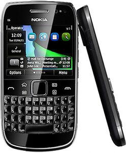 Nokia E6-00 - 8GB - Black (Unlocked) Smartphone Factory Sealed