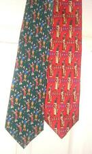 Men's Novelty Neck Ties,Golf Themed, Lot Of 2 , Nice!