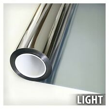 Window Insulation Film Privacy Transparent High Heat Rejection UV Cut Silver