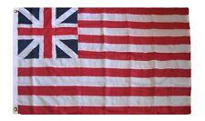 3x5 Embroidered Sewn UK Grand Union 300D Nylon Flag 3'x5' 2 Clips