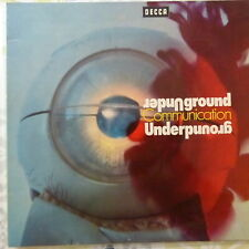 VARIOUS ARTISTS LP UNDERGROUND COMMUNICATION 1970 GERMANY VG++/VG++