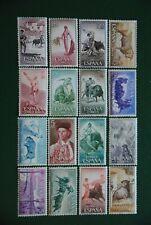 ESPAÑA 1960**ED 1254/69** TAUROMAQUIA NUEVOS SIN FIJA SELLOS