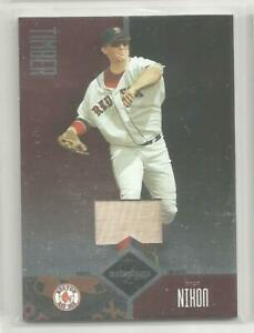Trot NIxon 2004 Leaf Limited Game Used Bat Timber #16/25 Boston Red Sox