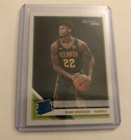Cam Reddish 2019-20 Panini Donruss Atlanta Hawks #209 RC Rated Rookie