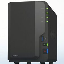 Synology NAS DS218+ 4GB RAM inkl. 8TB (2x4TB Seagate Barracuda HDD)