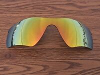 Inew 24K Gold polarized Replacement Lenses for Oakley Radar path