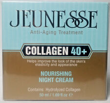 Jeunesse Collagen 40+ Moisturizing Night Cream Anti-Aging Treatment 1.69 fl oz