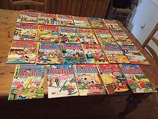 Lot of 23 Vintage Archie Comic Books 1970s