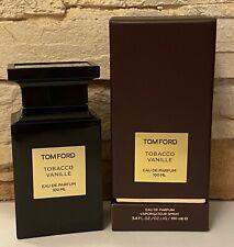 Tom Ford Tobacco Vanille Eau de Parfum 3.4 oz / 100 ml *AUTHENTIC & NEW*