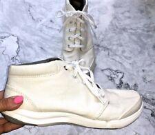 TEVA Wander Chukka Ankle Boot  Women's Size 9 White Canvas