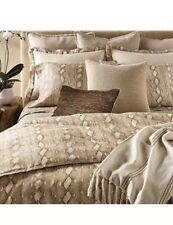 Ralph Lauren Great Sands Lowden Linen Euro Pillow Sham In Lt Cream