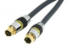 S-VIDEO TO S-VIDEO CABLE MONSTER VIDEO 3 1METER LONG HIGHEST QUALITY ON THE MARK