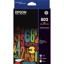 Genuine Epson 802 Ink Value Pack