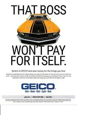 1969-1970 FORD MUSTANG 302 ~ NICE INSURANCE AD