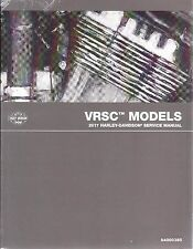 2017 Harley VRSC VRSCDX VRSCF Repair Service Workshop Manual Book 94000385