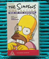THE SIMPSONS COLLECTION - WAR OF THE SIMPSONS - VHS