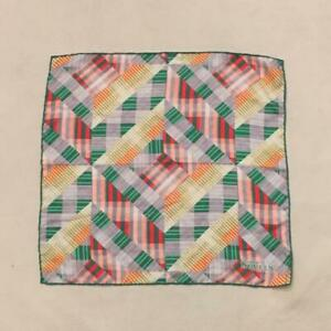 Alexander McQueen Geometric pattern Silk Handkerchief Auth Men Used from Japan