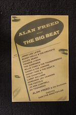 Alan Freed Big Beat #2 Tour Poster 1955 Buddy Holly