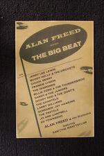 Alan Freed Big Beat #2 Tour Poster 1955 Buddy Holly