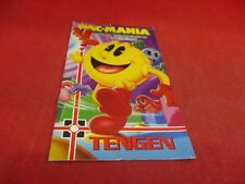 Pac-Mania Sega Genesis Instruction Manual Booklet ONLY