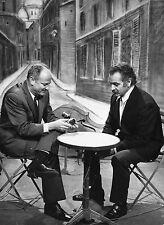 Photo originale Georges Brassens jean-paul seligmann décor Paris