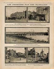 Ruines Grand Hôtel Michaux Pont de Visé/Wezet & Herve Liège Wallonie 1914 WWI