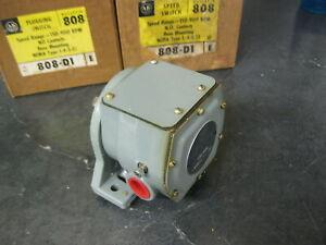 ALLEN BRADLEY 808-D1 Plugging Switch Speed Range 150-900 RPM  Base Mount Ser E