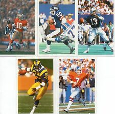 Montana, avergonzado, Marino, Dickenson, Morris Q de s Tarjetas de fútbol americano
