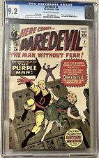 daredevil 4 cgc 9.2 1964 First Purple Man Appearance