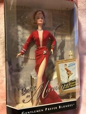 1997 Mattel Barbie as Marilyn Gentlemen Prefer Blondes Doll Brand New Collector