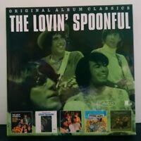THE LOVIN SPOONFUL ~ Original Album Classics ~ 5 x CD ALBUM BOX SET