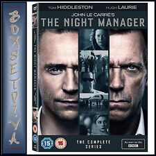 The Night Manager DVD Region 2 Tom Hiddleston Hugh Laurie