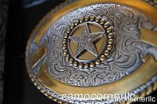 Crumrine WESTERN TEXAS STAR Rodeo Belt Buckle M & F Western 3806644