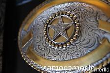 Crumrine WESTERN TEXAS STAR Rodeo Belt Buckle M & F Western 3806644
