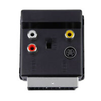 Scart to Audio Extractor for Component YUV RGB Video Converter 1pcs