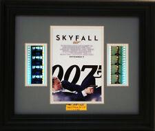 007 SKYFALL FRAMED FILM CELL JAMES BOND DANIEL CRAIG