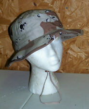 US Army Boonie Sun Hat Jungle Hot Weather Tan Desert Camo Operators Cap M L XL