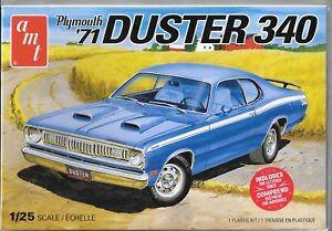AMT Plymouth 1971 '71 Duster 340 1/25 1118 St