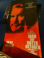 Sean Connery JAGD AUF ROTER OKTOBER - 3xA0 Kinoplakat 6-Sheet Poster