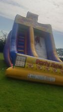 big slide bouncy castle