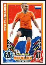 Wesley Sneijder Holland #93 England 2012 Match Attax TCG Card (C206)