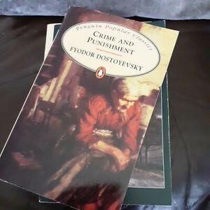 Job Lot 4 Books Classics Paperbacks T Hardy E Bronte F Doostoevsky