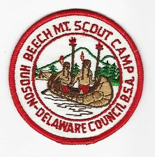 BOY SCOUT  BEECH MOUNTAIN S.C.  GAUZE BACK PP  HUDSON DELAWARE CNCL  NY A1
